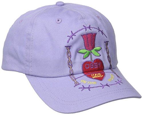 Obey Damen Hailey Cap - Violett - Einheitsgröße