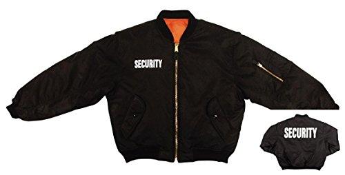 ROTHCO Security Ma-1 Flight Jacket - XXX-Large Black