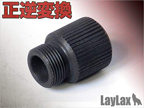 LayLax (ライラクス) F.FACTORY サイレンサーアタッチメント 正逆変換 エアガン用アクセサリー