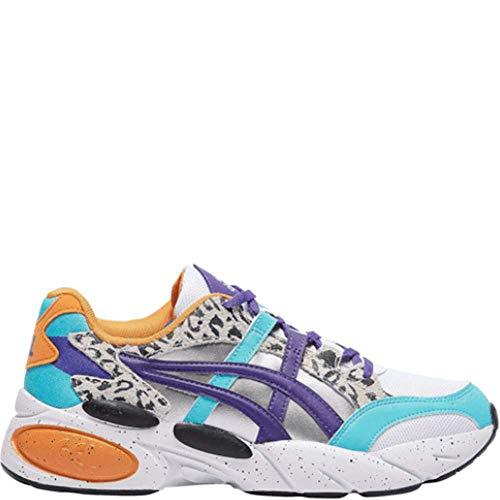ASICS Men's Gel-BND Fashion Sneakers White/Gentry Purple 9