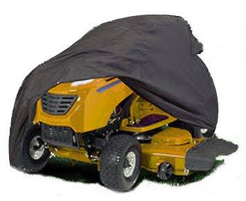 HBCOLLECTION Funda protectora para tractor cortacesped impermeable y resistante tamaño XXL