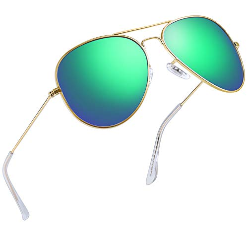 screw detail metal sunglasses - 6