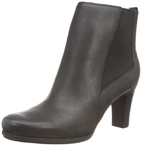 Rockport TM75MMH Chelsea, Boots Femme, Noir Noir Nubuck, 35 EU
