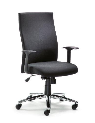 Mayer Drehstuhl, Polyester, schwarz, One Size