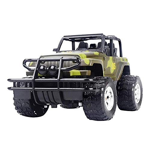 QSs-Ⓡ New Upgrade Off-Road RC Car Toy for Kids 1:43 Remote Control Car Toy - Best Present,Jeep Drift Speed Radio Camouflage Car Toy