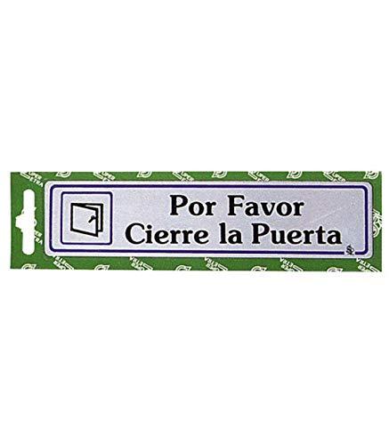 WOLFPACK LINEA PROFESIONAL 5270270 Rotulo por Favor Cierre La Puerta