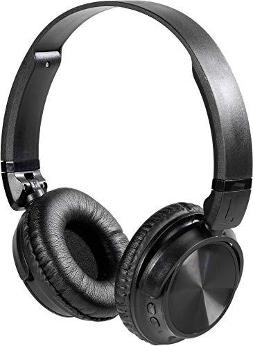 Vivanco MOOOVE AIR Black Bluetooth® HiFi On Ear Kopfhörer On Ear Faltbar, Headset, Ohrbügel Schwa