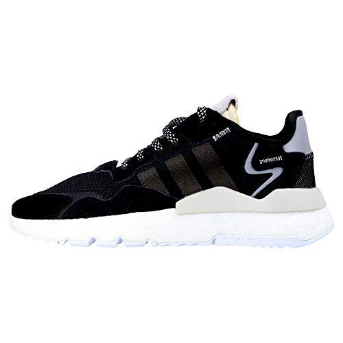 Adidas Nite Jogger W, Zapatos de Escalada para Mujer, Multicolor (Negbás/Carbon/Blapur 000), 38 2/3 EU