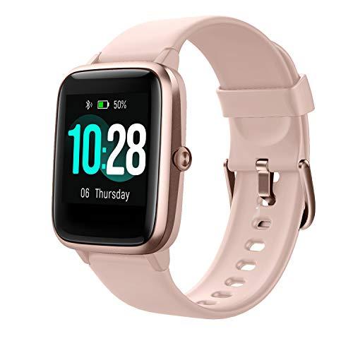 Vigorun Reloj Inteligente Pantalla Táctil Smartwatch para Hombre Mujer Niños Impermeable IP68 Pulsera Actividad Reloj Deportivo con Podómetro Control de Música Monitor de Sueño