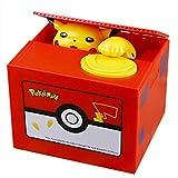 XYBB Tirelire Tirelire électronique de Haute qualité Pokemon Pikachu Tirelire Voler des pièces automatiquement pour Enfants ami Anniversaire Cadeau de noël pokemonCQG