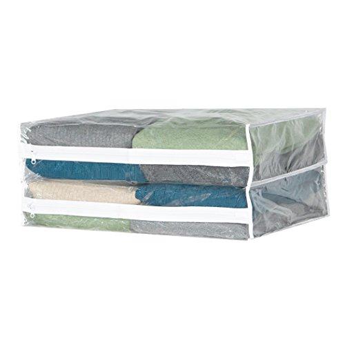Clear Vinyl Sweater Bag (set/6) (Clear)(14'W x 18'D x 4'H)