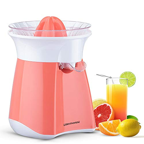 Electric Citrus Juicer with automatic flowing spout - Orange squeezer with...