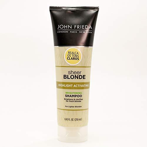 Jf Sb Shampoo Actv Light Blonde-250Ml, John Frieda