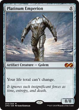 Magic: The Gathering - Platinum Emperion - Ultimate Masters - Mythic