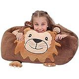 Riesiger Löwe Plüschtier Speicher Kind Sitzsack Stuhl Abdeckung