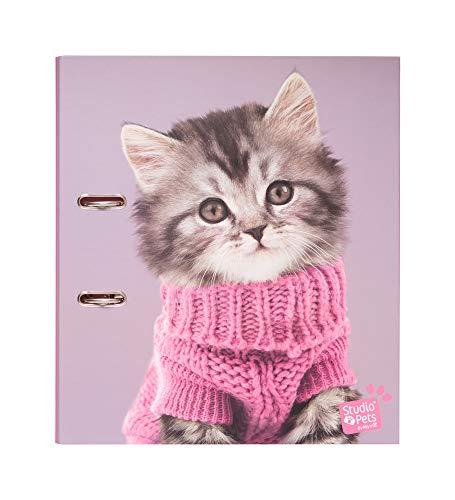 Erik® - Classeur à levier Studio Pets Cats | Classeur A4 | Fournitures Scolaires, Fournitures de Bureau