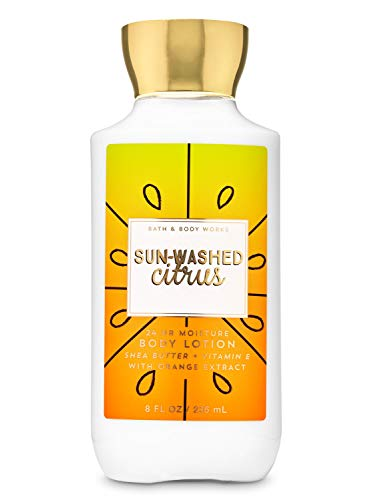 Bath and Body Works Sun Washed Citrus Lotion 8 Ounce Full Size