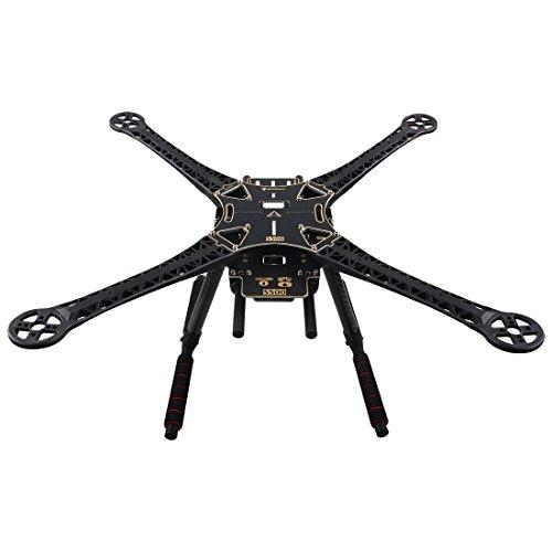 S500 Quadcopter Rumpf Rahmen Kit PCB Version mit Carbon Fahrwerk Skid von powerday