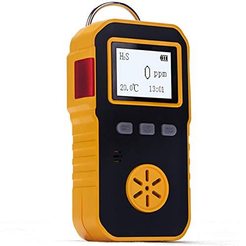 BOSEAN硫化水素測定器 検知器 H2S検出器 ガス漏れ検知 H2S漏れ検知 音 光 振動アラーム IP65 高精度 携帯用 USB充電 日本語切り替え可能