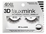 ARDELL Professional 3D Faux Mink 859, 1 Pack, Wimpern aus Synthetikhaar, vegan, schwarz, black (ohne...