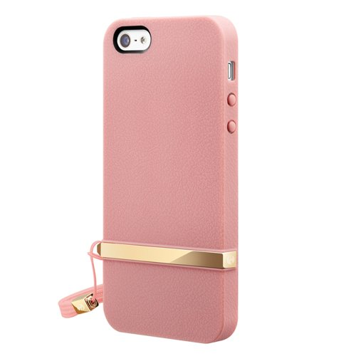 SWITCHEASY Lanyard Blossom Case für Apple iPhone 5 pink