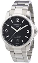 Certina Men's Watch XL Analogue Automatic C001,407,11,057,00 Stainless Steel