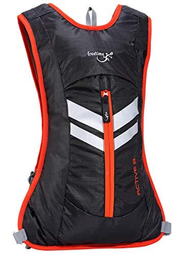 Freetime– Mochila de 8 litros – Mochila Trekking – Active – Bolsa de hidratación para bicicleta de montaña