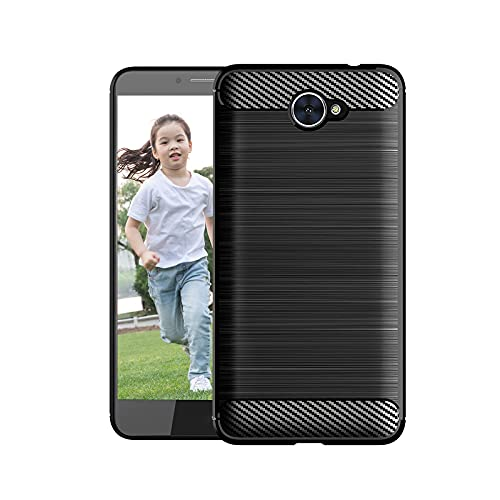 OUZHOU Suave a prueba de golpes TPU Teléfono Carcasas Protectivas Smartphone Conchas Cómodas Cubiertas de Teléfono Móvil Caso Ambiental con Parachoques para Huawei Y7 2017 Smartphones
