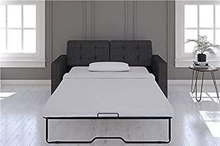 Signature Sleep Devon Sleeper Sofa with Memory Foam Mattress, Gray, Queen