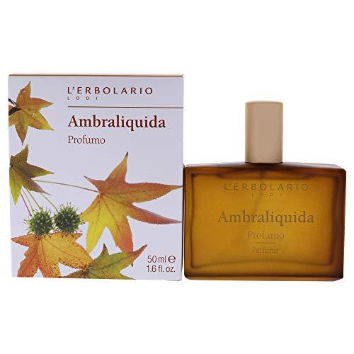 L Erbolario, Profumo Unisex Ambraliquida, 50 ml