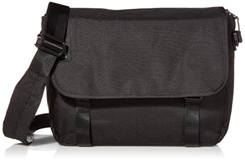 Loiee 14 inches Classic Canvas Mesenger Bag,hunting bag,vintage canvas messenger bag,messenger bag for men,Black