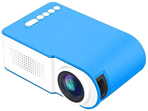 TIANYOU Proyector Mini Led Teatro Inicio 320X240 Resolución HD/A