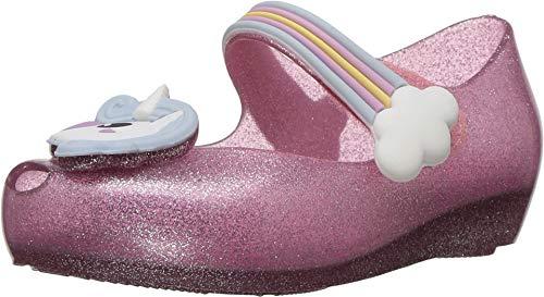 mini melissa Girl's Mini Ultragirl Unicorn (Toddler/Little Kid) Pink Sparkle 7 Toddler M