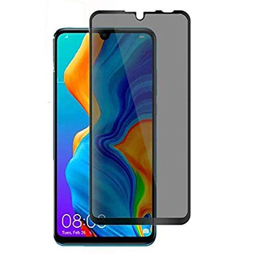 for Huawei P30 Lite Privacy Screen Protector - 3D Curved Anti-spy Tempered Glass Screen Film, 9H Hardness Anti-Scratch Anti-Peep Screen Protector for Huawei P30 Lite/Huawei Nova 4e [2pack]