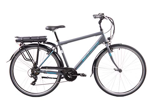 F.lli Schiano E- Light 1.0, Bicicletta elettrica Men's, Antracite, 28''