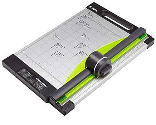 CARL, Professional Rotary Paper Trimmer 15-inch, 15 Sheet Cutting Capacity