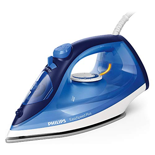 Philips EasySpeed Plus Steam Iron GC2145/20-2200W, Quick Heat Up with up to 30 g/min steam, 110 g steam Boost, Scratch Resistant Ceramic Soleplate, Vertical steam & Drip-Stop