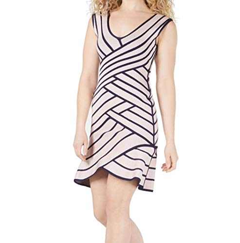 GUESS Womens Bandage Double-V Cocktail Dress Pink S