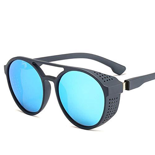 ZYIZEE Gafas de Sol Gafas Retro Gafas de conducción de visión Nocturna Gafas Redondas abatibles Gafas Gafas Completas para conducción Nocturna-B
