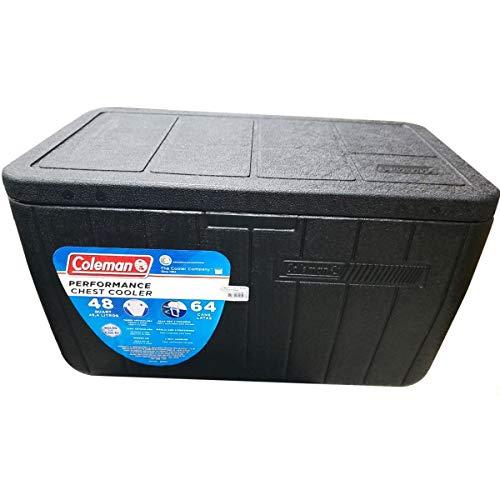Caixa Térmica Coleman 48QT / 45,4L - Preto - All Black