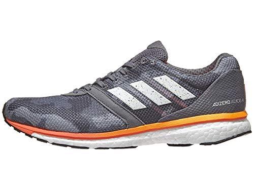 adidas Men's Adizero Adios 4, Black/Camo, 8 D