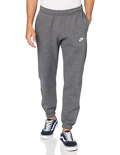 Nike Mens M NSW Club Pant Cf Bb Sweatpants, Charcoal Heather/Anthracite/White, S