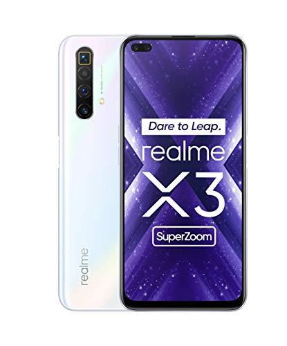 Oferta de Realme X3 Super Zoom - Smartphone12GB RAM + 256GB ROM, Dual Sim, Arctic White [Versión ES/PT]