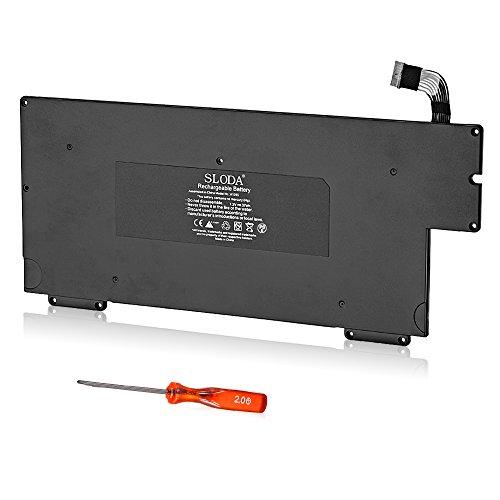 """SLODA Batería de Repuesto Compatible para MacBook Air 13"""" A1245 A1237 A1304 (Principios 2008 Finales 2008 Mediados de 2009) Macbook Air 1,1 2,1 Batería de Repuesto [Li-Polymer 7.2V 5200mAh]"""