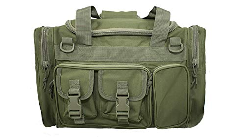 OSAGE RIVER Tactical Duffle Bag with Shoulder Strap and Carry Handles, OD Green