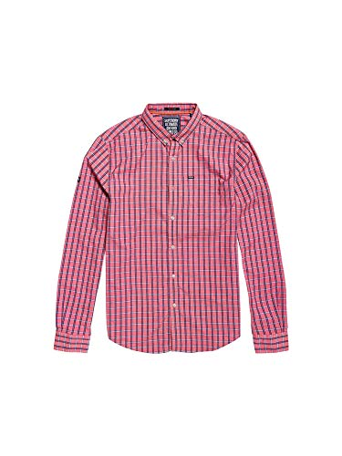Superdry M40001MR Hemd Man Pink L