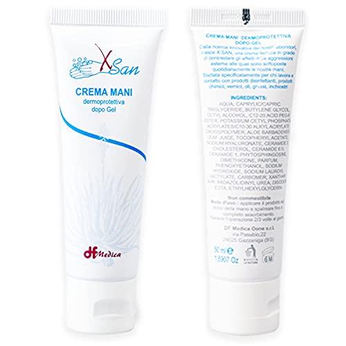 Crema Mani Riparatrice Idratante e Nutriente per Mani Secche e Screpolate con Tagli Dermoprotettiva dopo Gel - MADE IN ITALY - 50 ml