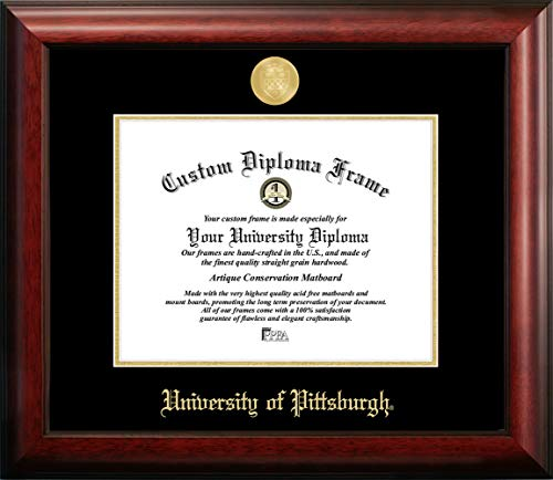 Campus Images University of Pittsburgh Gold Embossed Diploma Frame
