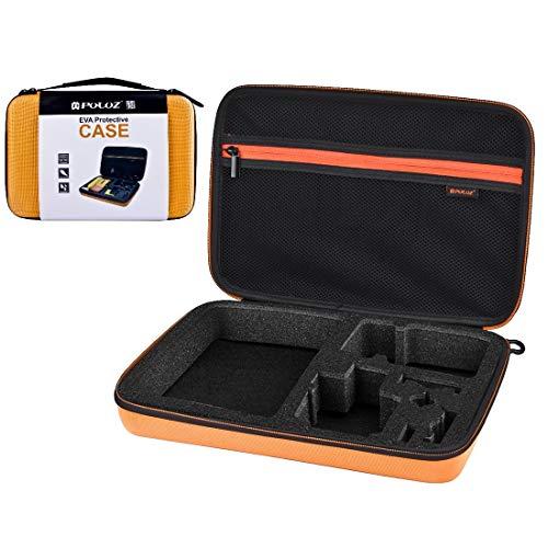 Metalen koffer Exterme sport Waterdichte Draag- en Reizen Case voor GoPro HERO6 /5/4 Session /4/3+ /3/2 /1, U6000 en andere Sport Camera's Accessoires, Grote Afmetingen: 32cm x 22cm x 7cm(oranje)