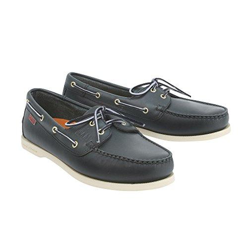 SLAM - Chaussures bateau Prince - Bleu Navy, 42
